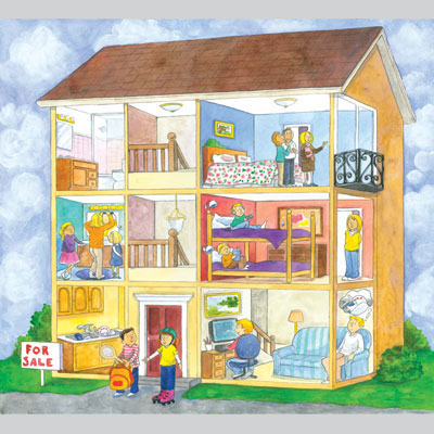illustration of 2D, Illustration, Architecture, Early Childhood, School Age, Tweens