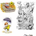 illustration of Illustration, Advertising, Character Development, Packaging Illustration, Point of Sale, Cartoon, Humorous, Board Games, Interactive, Toys, Early Childhood, School Age