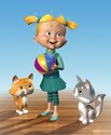 illustration of CGI, Illustration, Advertising, Character Development, Point of Sale, Animals, Cartoon, Boys, Girls, School Age