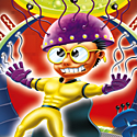 illustration of Mind Machine leisure game dvd cover illustration