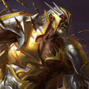 illustration of Mirran Crusader is a card illustration for Magic the Gathering's