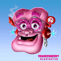 illustration of An exercise I did to update the Frankenberry character.