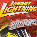 "illustration of ""Johnny Lightning"" brand identity and package design system redesign for RC2 Brands, Inc."