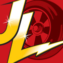 "illustration of ""Johnny Lightning"" brand identity redesign for RC2 Brands, Inc."