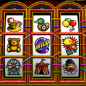 illustration of Fortune Fair Video Slots Game. 3D Modelling & Artwork