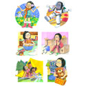 illustration of 2D, Illustration, Character Development, Early Childhood, School Age, Tweens, Teens