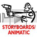 animation of Story, characters, storyboards, and editing. More here: http://greghardin.net/Website/Storyboards/Storyboards.html