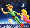 illustration of Peter Pan Cover