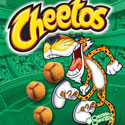 illustration of Cheetos packaging illustration
