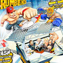illustration of WWE Rumblers illustrations