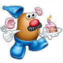 illustration of Mr Potato Head illustrations