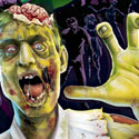 illustration of Photoshop illustration for a zombie toy